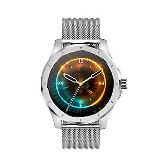 Chronus MX10 Business Smart Watch Männer Musik Spiel 256M RAM Bluetooth Anruf IP68 Wasserdichte Sport Smart Watch für Android IOS (silber)