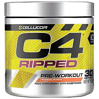 C4 Ripped, Icy Blue Raz - 165 grams