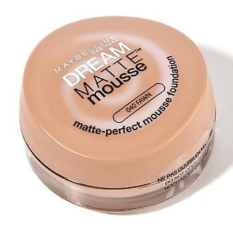 Maybelline New York # Maybelline Dream Matte Mousse - Fawn 40 #DISCON