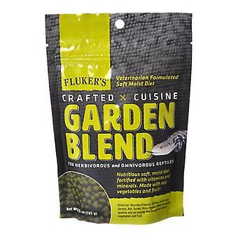 Flukers Crafted Cuisine Garden Blend Reptile Diet - 6.5 oz