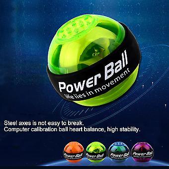 magisk ledet gyroskop makt ball gyro makt ball håndledd arm treningsball