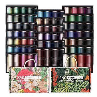 Hywell 520カラープロ色鉛筆オイリーペンシルはアーティスト、子供、大人、着色、スケッチと描画に適しています