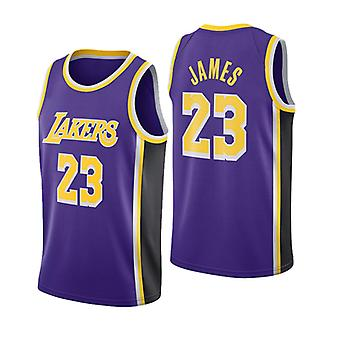 Los Angeles Lakers Lebron James Loose Basketball Jersey Maillots de sport
