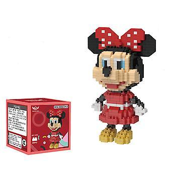 Minnie Concrete Block  For Creative Play Building Block Sets