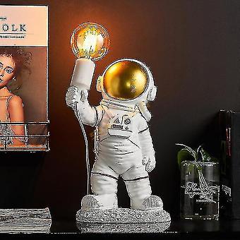 Light Nordic Astronaut Lampe de bureau en résine Lampe de bureau