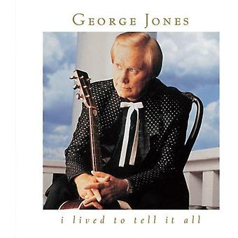 George Jones - I Lived to Tell It All [CD] USA import