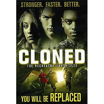 Cloned: The Recreator Chronicles [DVD] USA import