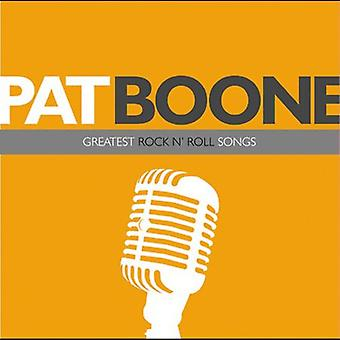 Pat Boone - Greatest Rock N' Roll Songs [CD] USA import