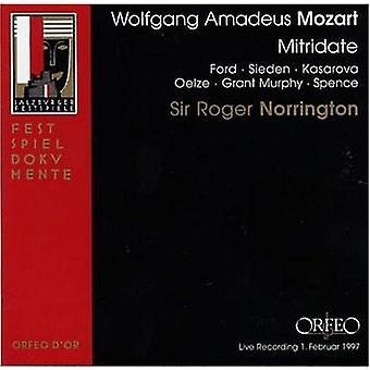 W.a. Mozart - Mozart: Mitridate Re Di Ponto [CD] USA import