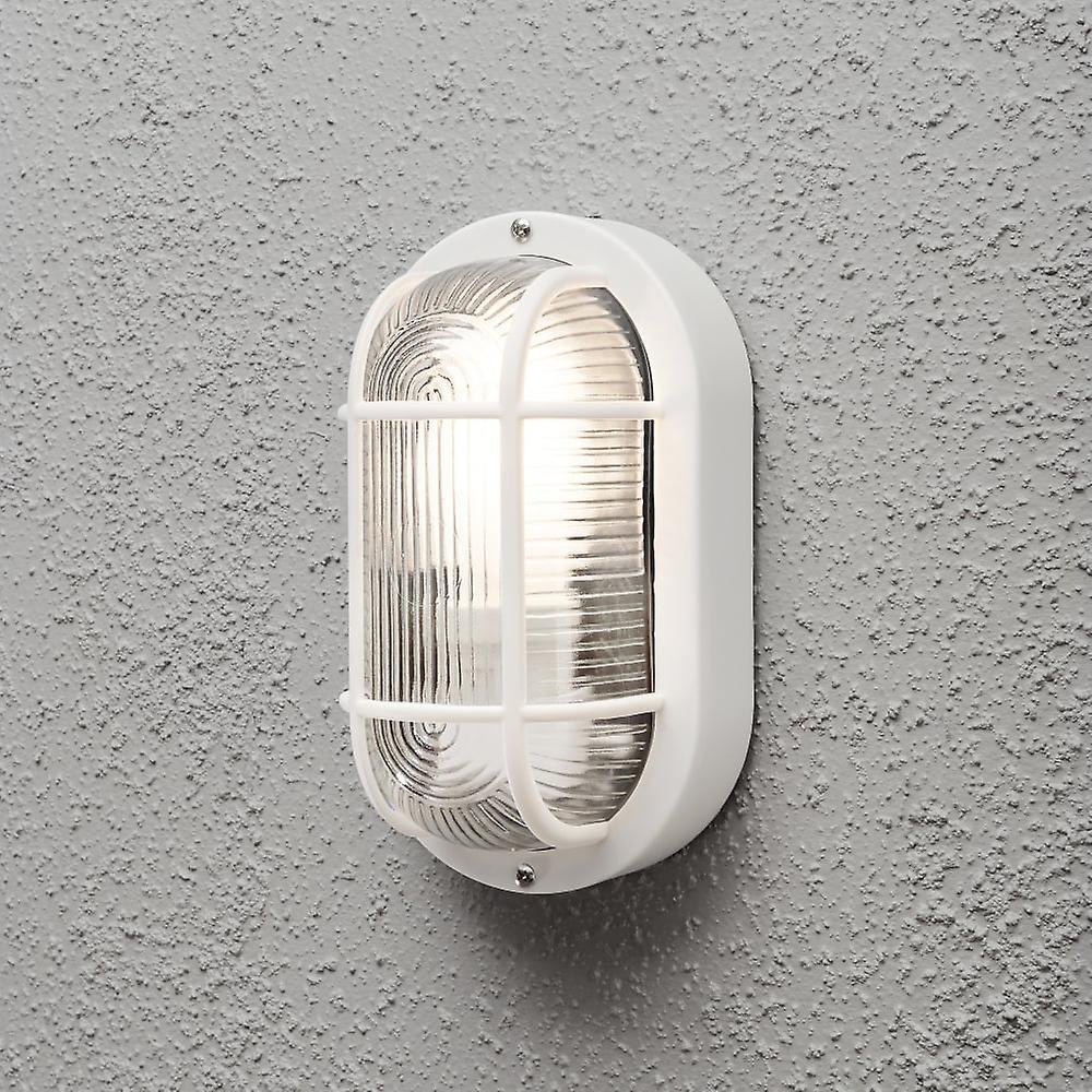 Konstsmide ELmas Wall Light White Plastic