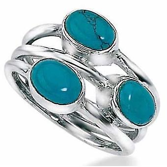 925 Silber Türkis Ring