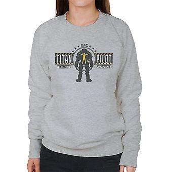 Titan Pilot Training Academy Titanfall Women's Sweatshirt