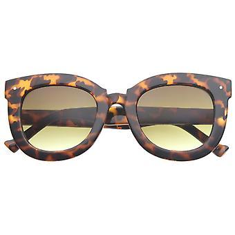 المرأة المتضخم الفراشة القرن انعقدت الجولة القط العين نظارات 67 ملم