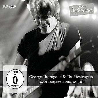 George Thorogood & Destroyers - Live at Rockpalast: Dortmund 1980 [CD] USA import