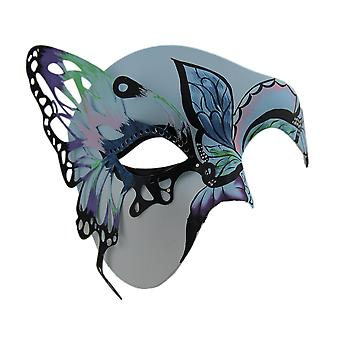 Butterfly Masquerade Colorful Half Face Costume Mask
