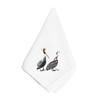 Carolines schatten 8171NAP bruine pelikanen servet