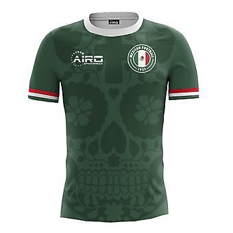 2018-2019 Mexico Huis Concept voetbalshirt (kinderen)