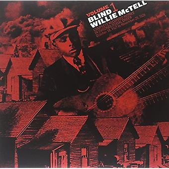 Willie McTell - Willie McTell: Complete Recorded Works in Chronological Order 1 [Vinyl] USA import