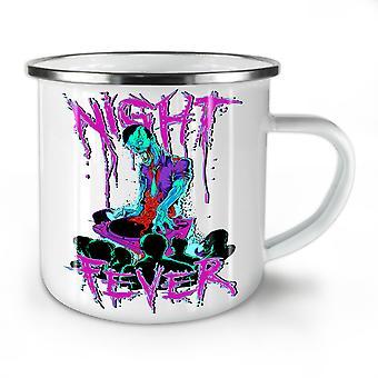 Night Fever Dead NEW WhiteTea Coffee Enamel Mug10 oz | Wellcoda