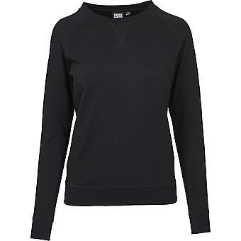 Urban classics ladies - Terry RAGLAN sweater black