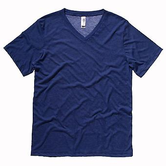 Bella Canvas Mens Triblend V-Neck T-Shirt