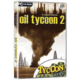 Oil Tycoon 2 (PC CD)-fabriken förseglad