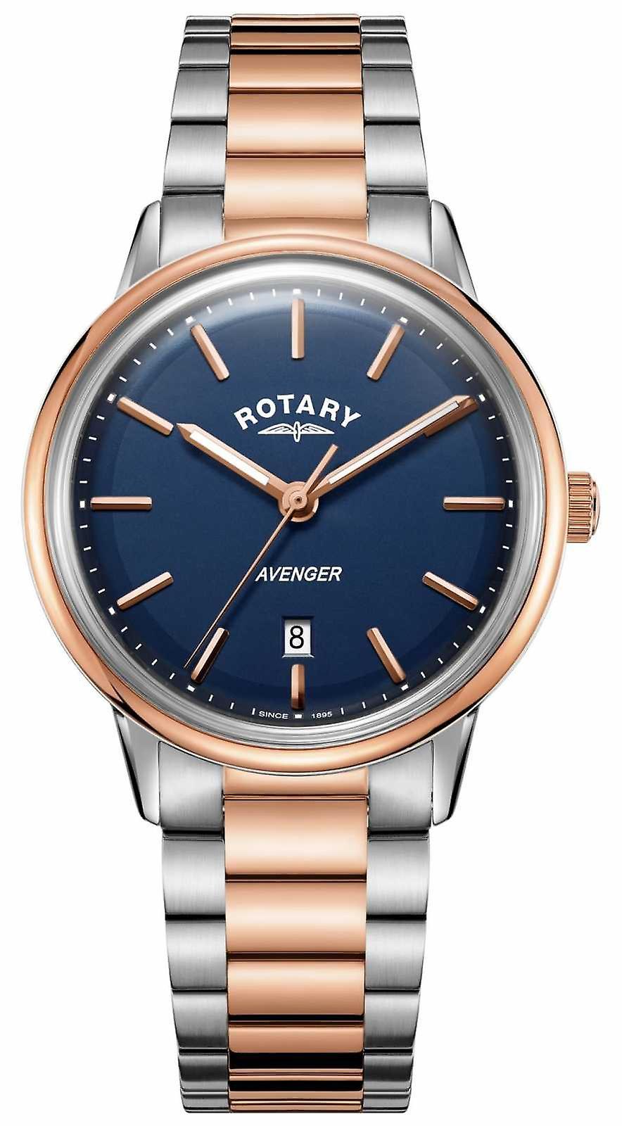 Rotary Mens Avenger | Stainless Steel Bracelet | Blue Dial | GB05342/05 Watch