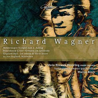 Wesseling, Maria Riccarda/Kammerphi - Richard Wagner: Original Works and Adaptations for Chamber Orchestra [SACD] USA import