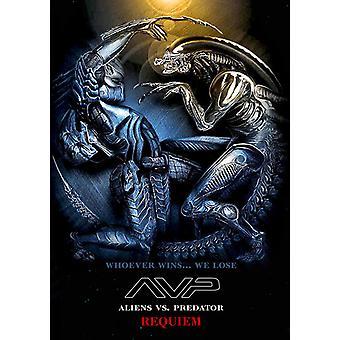 AVPR エイリアン vs プレデター - レクイエム映画ポスター (27 × 40)