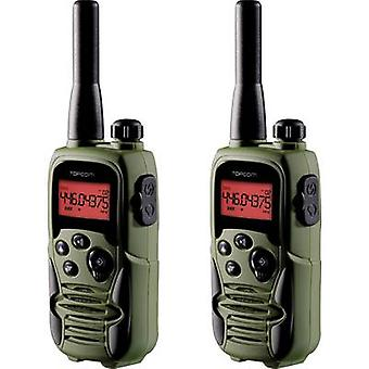Topcom Twintalker 9500 Airsoft Edition RC-6406 PMR handheld transceiver 2-piece set