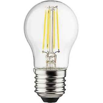 Müller-Licht LED (monochrome) EEC A++ (A++ - E) E27 Droplet 4 W = 40 W Warm white (Ø x L) 45 mm x 77 mm Filament 1 pc(s)