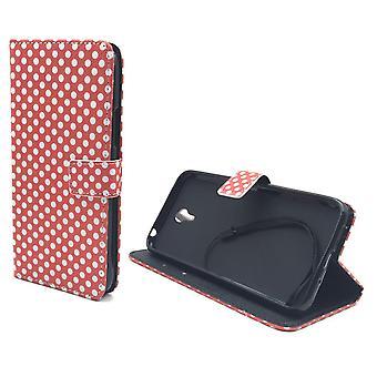 Telefon komórkowy case etui dla przenośnych Lenovo ZUK Z1 polka dot Red