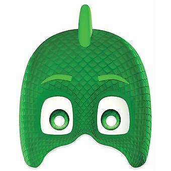 Gekko from PJ Masks Single 2D Card Party Face Mask