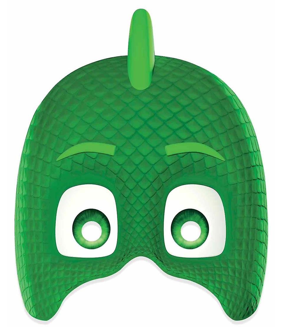 Gekko From Pj Masks Single 2d Card Party Face Mask Fruugo India
