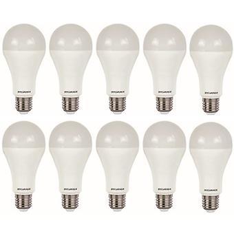 10 x Sylvania ToLEDo A66 Dimmable E27 V4 15W Homelight LED 1521lm [Energy Class A+]
