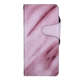 Purple Wallet caso mármore - Samsung Galaxy S8!