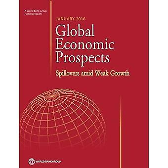 Maailman talouden näkymät, tammikuuta 2016: Ennustettu levitettävän keskellä heikon kasvun