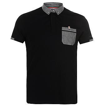 Kangol Mens Cham Short Sleeve Polo Shirt T T-ShirtTops