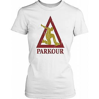 Parkour freilaufenden Damen T Shirt