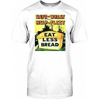Gem hveden - hjælp flåde - Retro krig plakat børn T Shirt