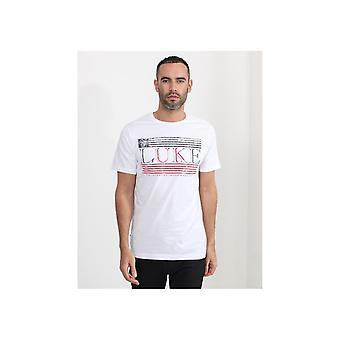 Luke 1977 Luke Flag Printed T-shirt