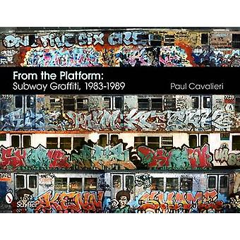 From the Platform - Subway Graffiti - 1983-1989 by Paul Cavalieri - 97