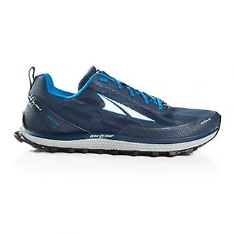Altra Superior 3.5 Mens Zero Drop & Footshape Toe Box Trail Running Shoes Blue