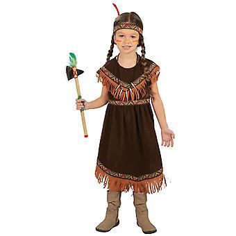 Meisjes Cherokee Indische Fancy Dress kostuum