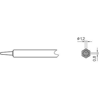 Weller NT K Soldering tip Chisel-shaped Tip size 1.2 mm Content 1 pc(s)