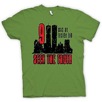 Kinder T-shirt - 911 Inside Job - Wahrheit Verschwörung
