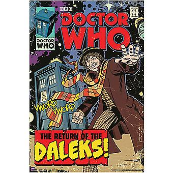 Poster - Studio B - Dr Who - Return of the Dalek Wall Art P5609