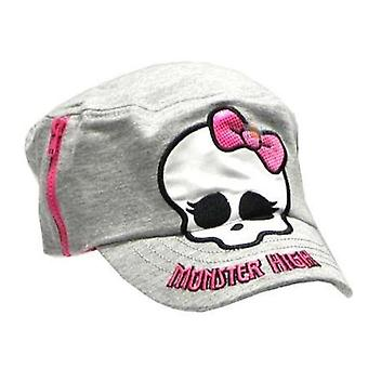 Cadet Cap - Monster High - Little Girls Grey Kids/Youth New 083165-grey