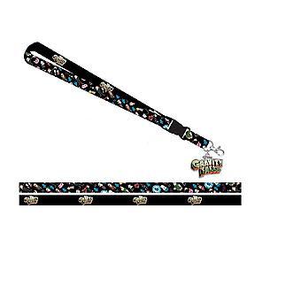 Lanyard-Gravity Falls-w/ID houder nieuwe la77dxgfs