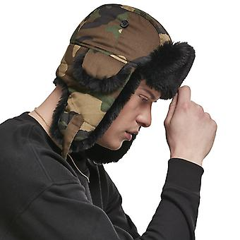 Urban Classics - TRAPPER Dog Ear Winter Hat wood camo